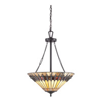 Quoizel Chastain 3 Light Pendant in Vintage Bronze TFCS2820VB