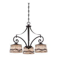 Dayton 3 Light 24 inch Imperial Bronze Dinette Chandelier Ceiling Light