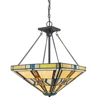 Quoizel Lighting Finton 2 Light Pendant in Vintage Bronze TFFT2818VB