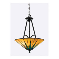 Quoizel Lighting Gotham 3 Light Pendant in Vintage Bronze TFGO2821VB alternative photo thumbnail