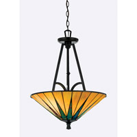 Quoizel Lighting Gotham 3 Light Pendant in Vintage Bronze TFGO2821VB photo thumbnail