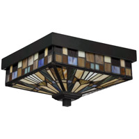 Quoizel TFIK1611VA Inglenook 2 Light 11 inch Valiant Bronze Outdoor Flush Mount  alternative photo thumbnail