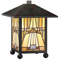 Quoizel Inglenook 1 Light Table Lamp in Valiant Bronze TFIK6111VA