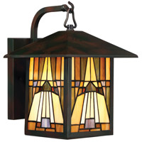 Inglenook 1 Light 12 inch Valiant Bronze Outdoor Wall Lantern