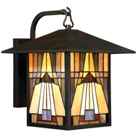 Inglenook 1 Light 14 inch Valiant Bronze Outdoor Wall Lantern in Incandescent