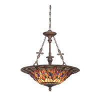 Jewel Dragonfly 4 Light 22 inch Malaga Pendant Ceiling Light
