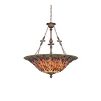 Quoizel Lighting Jewel Dragonfly 6 Light Pendant in Malaga TFJD2836ML