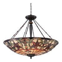Quoizel Kami 8 Light Pendant in Vintage Bronze TFKM2840VB