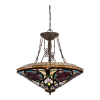 Quoizel Larissa 8 Light Foyer Pendant in Vintage Bronze TFLR2840VB