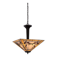 Quoizel Monteclaire 3 Light Pendant in Western Bronze TFMC2818WT