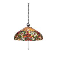 Mariah 3 Light 20 inch Vintage Bronze Pendant Ceiling Light