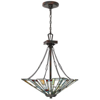 Maybeck 3 Light 17 inch Valiant Bronze Pendant Ceiling Light