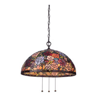 Quoizel Rosa 3 Light Pendant in Imperial Bronze TFRA1820IB