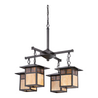 Quoizel Samara 4 Light Chandelier in Vintage Bronze TFSM5004VB
