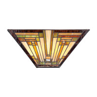 Quoizel Lighting Stephen 2 Light Wall Sconce in Vintage Bronze TFST8802