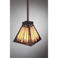 Quoizel Lighting Tanner 1 Light Mini Pendant in Russet TFTR1506RS alternative photo thumbnail