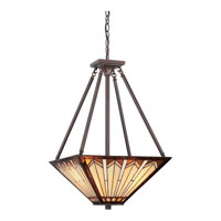 Quoizel Lighting Tanner 3 Light Pendant in Russet TFTR2816RS photo thumbnail