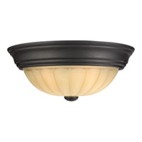 Quoizel Lighting Tradewinds 1 Light Flush Mount in Espresso TL182EP
