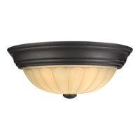 Quoizel Lighting Tradewinds 2 Light Flush Mount in Espresso TL183EP