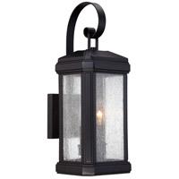 Quoizel TML8407K Trumbull 2 Light 19 inch Mystic Black Outdoor Wall