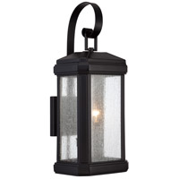 Trumbull 2 Light 23 inch Mystic Black Outdoor Wall