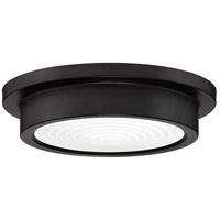Quoizel TMN1612OI Terminal LED 12 inch Oil Rubbed Bronze Flush Mount Ceiling Light