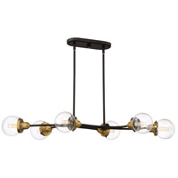 Trance 6 Light 42 inch Western Bronze Island Chandelier Ceiling Light