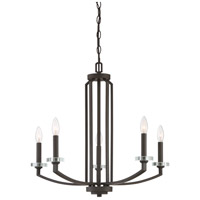 Quoizel TNS5005OZ Transit 5 Light 25 inch Old Bronze Chandelier Ceiling Light