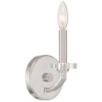 Quoizel TNS8701BN Transit 1 Light 5 inch Brushed Nickel Wall Sconce Wall Light