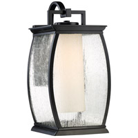 Quoizel TRE8409K Terrace 1 Light 17 inch Mystic Black Outdoor Wall Lantern