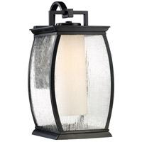 Quoizel TRE8409KFL Terrace 1 Light 17 inch Mystic Black Outdoor Wall Lantern