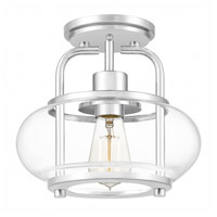 Quoizel TRG1710C Trilogy 1 Light 10 inch Polished Chrome Semi-Flush Mount Ceiling Light