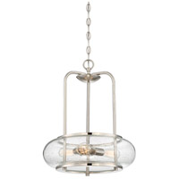 Quoizel Trilogy 3 Light Pendant in Brushed Nickel TRG1816BN