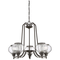 Quoizel TRG5005OZ Trilogy 5 Light 26 inch Old Bronze Chandelier Ceiling Light alternative photo thumbnail