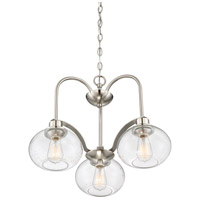 Quoizel TRG5103BN Trilogy 3 Light 22 inch Brushed Nickel Dinette Chandelier Ceiling Light alternative photo thumbnail