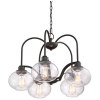 Quoizel TRG5105OZ Trilogy 5 Light 26 inch Old Bronze Dinette Chandelier Ceiling Light alternative photo thumbnail