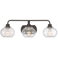 Quoizel Trilogy 3 Light Bath Light in Old Bronze TRG8603OZ