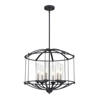 Quoizel Lighting Troy 6 Light Pendant in Royal Ebony TRY2824BA alternative photo thumbnail