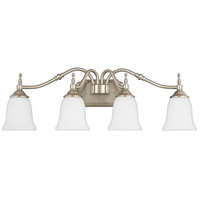 Quoizel Lighting Tritan 4 Light Bath Light in Brushed Nickel TT8604BN