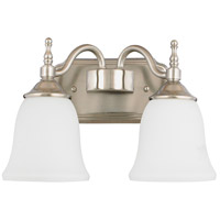 Quoizel Lighting Tritan 2 Light Bath Light in Brushed Nickel TT8742BN