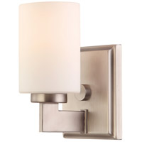 Taylor 1 Light 6 inch Antique Nickel Bath Light Wall Light