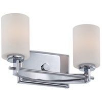 Quoizel Lighting Taylor 2 Light Bath Vanity in Polished Chrome TY8602C