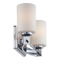 Quoizel Taylor 2 Light Bath Light in Polished Chrome TY8602C alternative photo thumbnail