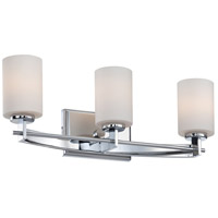Taylor 3 Light 21 inch Polished Chrome Bath Light Wall Light