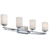 Taylor 4 Light 30 inch Polished Chrome Bath Light Wall Light