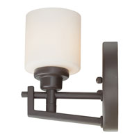 Quoizel Lighting Taylor 1 Light Bath Light in Western Bronze TY8701WT alternative photo thumbnail