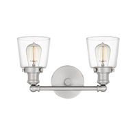 Quoizel UNIC8602BN Union 2 Light 15 inch Brushed Nickel Bath Light Wall Light