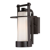Quoizel Lighting Uptown East River 1 Light Outdoor Wall Lantern in Western Bronze UPER8408WT alternative photo thumbnail