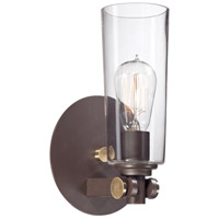 Quoizel UPEV8701WT Uptown East Village 1 Light 7 inch Western Bronze Wall Sconce Wall Light