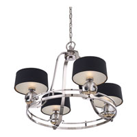 Quoizel Uptown Gotham 4 Light Chandelier in Imperial Silver UPGO5004IS alternative photo thumbnail